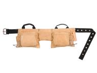 Kuny's KUNAP527X - AP-527X Heavy-Duty Leather Work Apron 12 Pocket