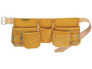 Kuny's KUNAP630 - AP-630 Carpenter's Apron 13 Pocket Full Grain Leather