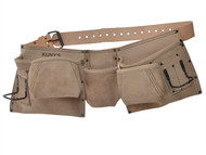 Kuny's KUNAP633 - AP-633 Carpenter's Apron 9 Pocket Full Grain Leather