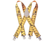 Kuny's KUNSP15Y - SP-15Y Yellow Braces 2in Wide