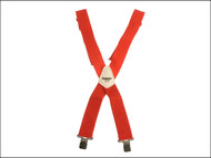 Kuny's KUNSP17R - SP-17R Red Braces 2in Wide