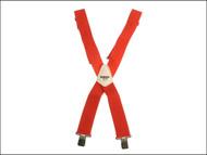 Kuny's KUNSP17R - SP-17R Red Braces 2in Wide