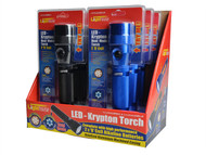 Lighthouse L/HALU2DDIP - 2 Function Torch LED + Krypton Display of 6