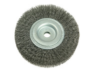 Lessmann LES345162 - Wheel Brush D150mm x W23-25 x 50 Bore Set 3 Steel Wire 0.30