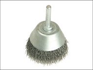 Lessmann LES434162 - Cup Brush With Shank D40mm x 15h x 0.30 Steel Wire