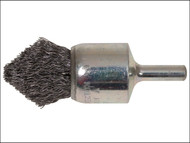 Lessmann LES453162 - Pointed End Brush With Shank 23/68 x 25mm 0.30 Steel Wire