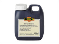 Liberon LIBBP250 - Black Polish 250ml