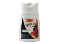 Liberon LIBLCDB150 - Leather Cream Dark Brown 150ml