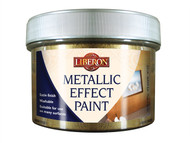 Liberon LIBMEPALU250 - Metallic Effect Paint Aluminium 250ml
