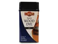 Liberon LIBSDE1L - Spirit Wood Dye Ebony 1 Litre