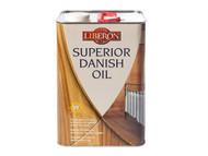 Liberon LIBSDO5L - Superior Danish Oil 5 Litre