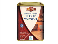 Liberon LIBVWNCS1L - Natural Finish Floor Varnish Clear Satin 1 Litre