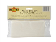 Liberon LIBWSCP3 - Woodturners Safety Cloth (Pack of 3)