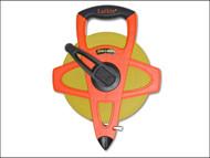Lufkin LUFFM100CME - FM100CME Fibreglass Tape 100m / 330ft (Width 13mm)