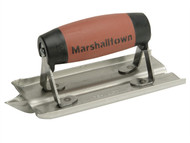 Marshalltown M/T180D - M180D Stainless Steel Groover Trowel Durasoft Handle 150 x 75mm (6 x 3in)