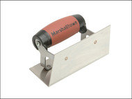 Marshalltown M/T65SSD - 65SSD Stainless Steel Internal Corner Trowel Square DuraSoft Handle