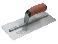 Marshalltown M/T701SD - Notched Trowel 701SD Vee 3/16in Durasoft Handle 11 x 4.1/2in