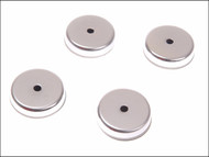 E-Magnets MAG703 - 703 Ferrite Shallow Pot Magnets(4) 32mm