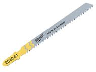 Milwaukee MIL2274351 - Jigsaw Blades T101D Wood Clean and Splinter Free (5)