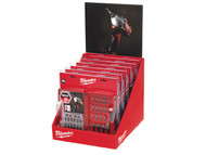 Milwaukee MIL352456 - Shockwave Screwdriver Bit Set 28 Piece Counter Display of 6