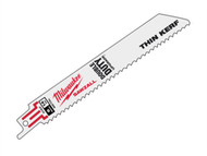 Milwaukee MIL48005182 - SAWZALL Metal Sabre Blade 150mm 14 tpi (5)