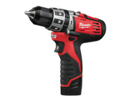 Milwaukee MILC12CPD2 - C12PD-202C Compact Cordless Percussion Drill 12 Volt 2 x 2.0Ah Li-Ion