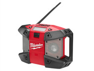 Milwaukee MILC12JSR0 - C12 JSR-0 Compact Jobsite Radio 240 Volt & 12 Volt Li-Ion Bare Unit