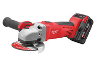 Milwaukee MILHD28AG3 - M28 HD28 AG-32C 115mm Heavy-Duty Angle Grinder 28 Volt 2 x 3.0Ah Li-Ion