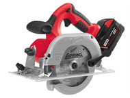 Milwaukee MILHD28CS3 - M28 HD28 CS-32C 165mm Heavy-Duty Circular Saw 28 Volt 2 x 3.0Ah Li-Ion