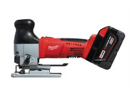 Milwaukee MILHD28JSB3 - M28 HD28 JSB-32C Heavy-Duty Body Grip Cordless Jigsaw 28 Volt 2 x 3.0Ah Li-Ion