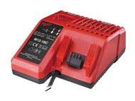Milwaukee MILM1218C - M12-18C Multi Voltage Charger 12-18 Volt Li-Ion