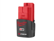 Milwaukee MILM12B15 - M12 B REDLITHIUM-ION Battery 12 Volt 1.5Ah Li-Ion