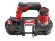 Milwaukee MILM12BS0 - M12 BS-0 Cordless Bandsaw 12 Volt Bare Unit