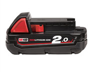 Milwaukee MILM18B2 - M18 B2 REDLITHIUM-ION Slide Battery Pack 18 Volt 2.0Ah Li-Ion