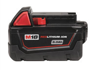 Milwaukee MILM18B3 - M18 BX REDLITHIUM-ION Slide Battery Pack 18 Volt 3.0Ah Li-Ion