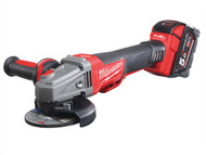 Milwaukee MILM18CAGDB5 - M18 CAG115XPDB-502X 115mm Fuel Brushless Angle Grinder 18 Volt 2 x 5.0Ah Li-Ion