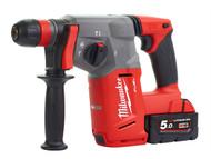 Milwaukee MILM18CHX5F - M18CHX-502 FUEL SDS+ Hammer 18 Volt 2 x 5.0Ah Li-Ion