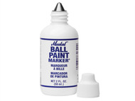 Markal MKL84600C - Ball Paint Marker - White