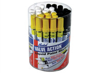 Markal MKL96080 - Valve Action Paint Markers Tub 24