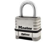 Master Lock MLK1174D - ProSeries Stainless Steel 4 Digit Padlock 57mm