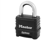 Master Lock MLK1178D - ProSeries Die-Cast Zinc Body 4 Digit Padlock 57mm