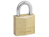 Master Lock MLK120 - Solid Brass 20mm Padlock 3-Pin