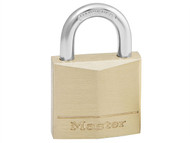 Master Lock MLK130 - Solid Brass 30mm Padlock 4-Pin