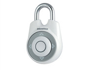 Master Lock MLK1500IWHI - One Directional Movement Combination 55mm Padlock - White