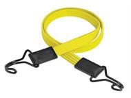 Master Lock MLK3226E - Flat Bungee 100cm Yellow Double Hook