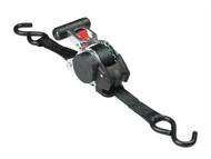 Master Lock MLK3238 - Retractable Ratchet Tie-Down S Hook 3m 2 Piece