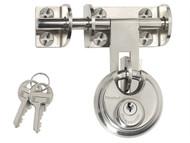 Master Lock MLK448 - Hasp 116mm + Discus Padlock 60mm