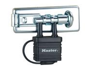 Master Lock MLK471 - Bolt Hasp With Integrated Lock 110mm