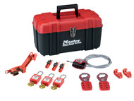 Master Lock MLKS1117KA - Lockout Toolbox Electrical Kit 12-Piece