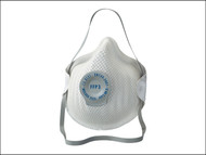 Moldex MOL2555 - Classic Series FFP3 NR D Valved Mask Pack of 20